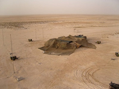 Composante mobile en zone désertique (source 44° RT)