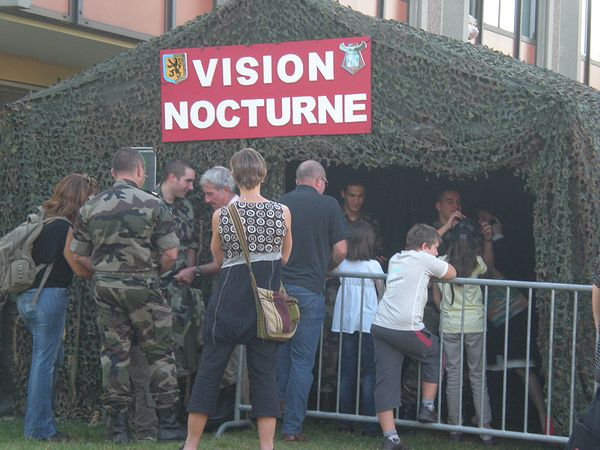 Stand vision nocturne